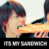 massu sandwich kawaii ganbarimasu