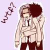"""8059 """"wtf?"""" hug"""