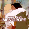 Boys Hug, Men GROPE!