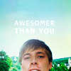 I forgot my name, and drowned.: [merlin] awesomer than you