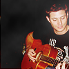 |528491| wishful feather ⇧: Jensen | Playing the guitar