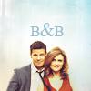 writing 'bout big damn heroes: Booth/Bones - B&B