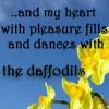 Text - dancing with the daffodils rvc