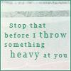 something heavy//random quote