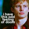 Merlin - Arthur - odd feeling of doom, odd feeling of doom