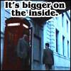 HP - Whoniverse - bigger inside, bigger inside