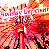 holiday deficient