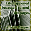 life turning pages