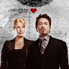 Mercy: [Iron Man] Tony/Pepper - heart