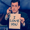 Self-Proclaimed Queen of Nerds: colbert loves me