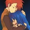 nozomixdawn, hug
