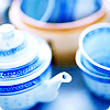 blue tea!