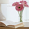 other - book & flowers
