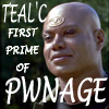 Fig Newton: teal'c pwnage