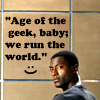 Leverage - age of the geek