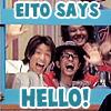 tadayoshisan: eito says hello