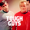 DS9; Bashir & O'Brien; Tough Guys