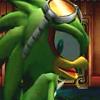 Jet the Hawk (Sega) posting in Station Square - a Sonic the Hedgehog RPG