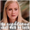 righteous shall walk by faith