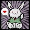 bunny doll *hearts* by bento