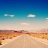 pretty // desert road
