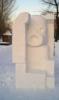 ледяная скульптура, Москва