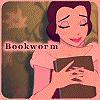 worm, books, princess