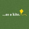 ...as a kite