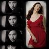 Berkanna: Liv red dress