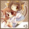 Waka-chan: kitty hugs
