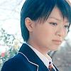 Mei-chan: Mei looking down and sad.
