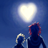 AkuRoku stare at the moon