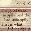 fiction means