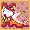 The Lady of  Gisborne: (Hello Kitty) Medieval Kitty