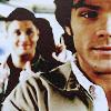 Supernatural - Dean grins in background