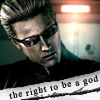 RE: Wesker: the right to be a god