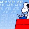 snoopy write