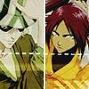 bleach: kisuke/yoruichi mysterious