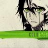 bleach: ulquiorra ojos verdes