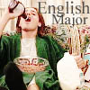 oncethrown: English Major