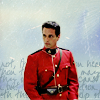 Sadiane: Due South-  Fraser on white