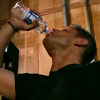 Late Night Drops of Random: Dean drinking water