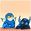 Blue Beetle: Ted and Jaime