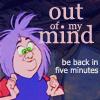 Princess Jackie: {Disney} SiS: 'Out of my Mind