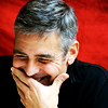 alwaysashipper: george laughing red background