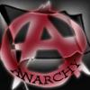 Black flag of anarchy