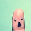 (surprise) Oh! Finger!