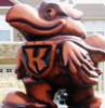 Heroic Hawk Statue