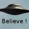 Верить в НЛО