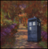 TARDIS at Giverny
